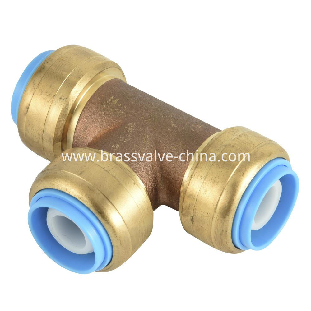 Lead Free Brass Push Fit Coupling